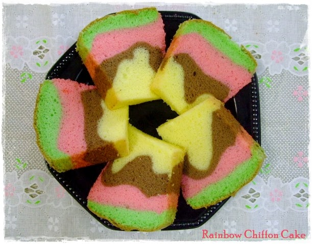 Tested & Tasted: Rainbow Chiffon Cake