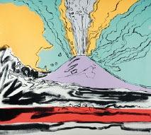 fondazione mazzotta di milano: un altro esempio di vesuvius di warhol