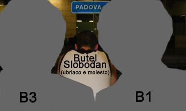 sentenziosi in stazione trenitalia Padova