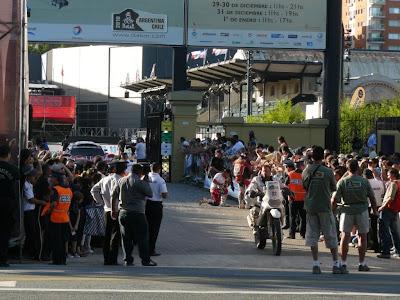 Аргентина Буенос Айрес финиш Дакара 2010 мотоциклы
