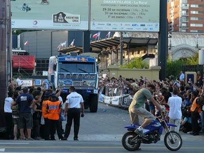 Аргентина Буенос Айрес финиш Дакара 2010 грузовики