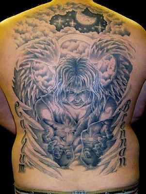 Очень красивые татуировки вот это мастера! (68 фото
