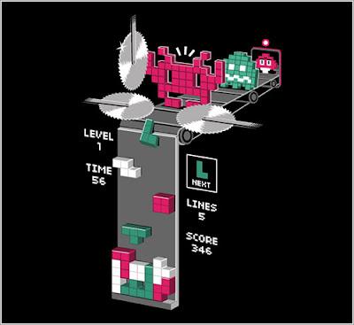 El verdadero origen de las piezas de Tetris