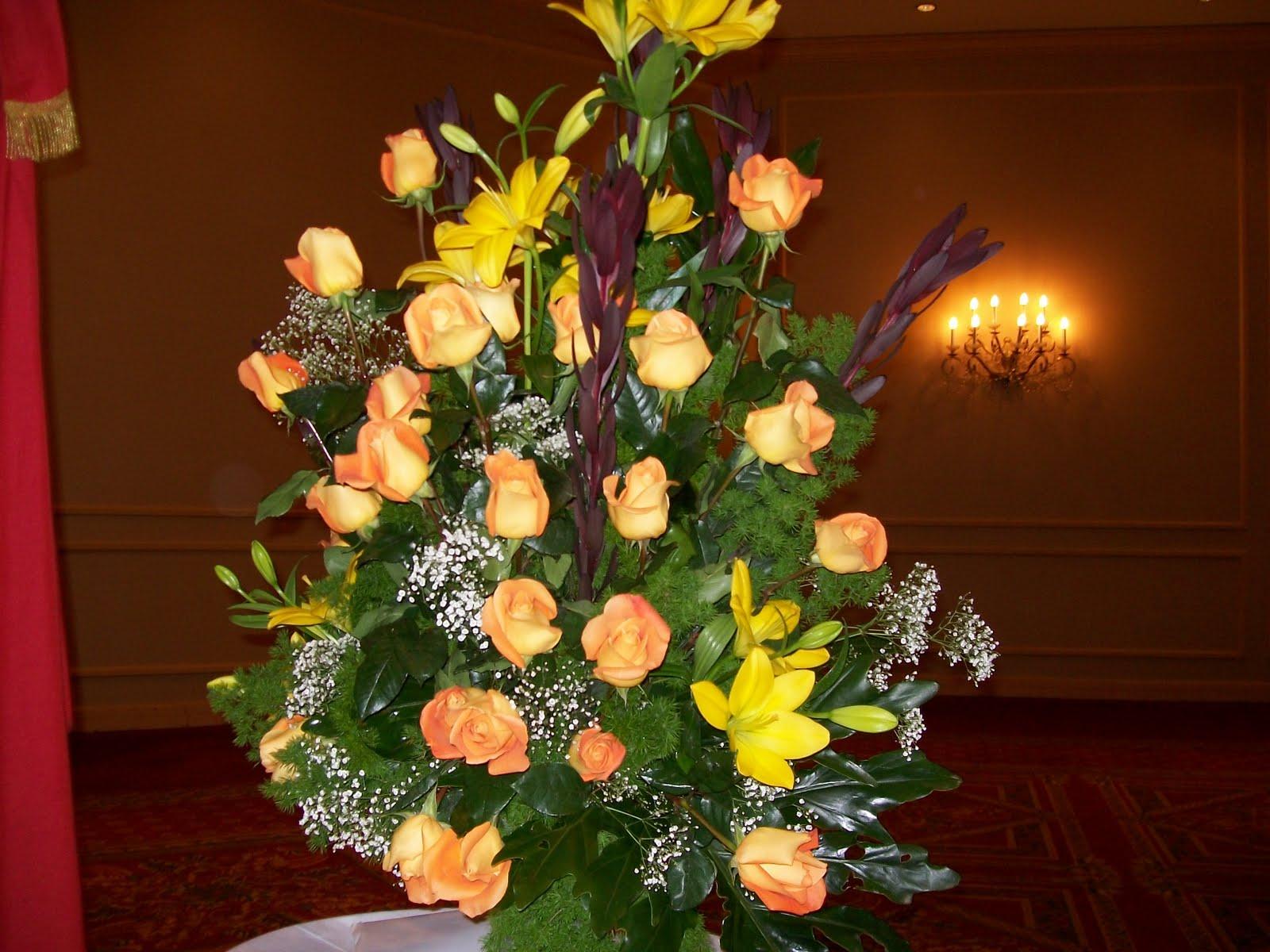 Ceremonial y eventos para comunicar marzo 2006 - Como hacer centro de flores artificiales ...