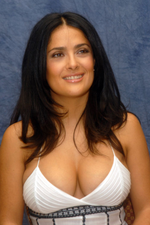 Hollywood Actress Salma Hayek Hot Photos