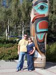 Joe & Lisa in Alaska 8/09