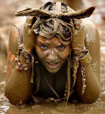 Festival Girls Mud Wrestling  8 ''Survivor: China'': Nude (almost) mud wrestling. Dammit!