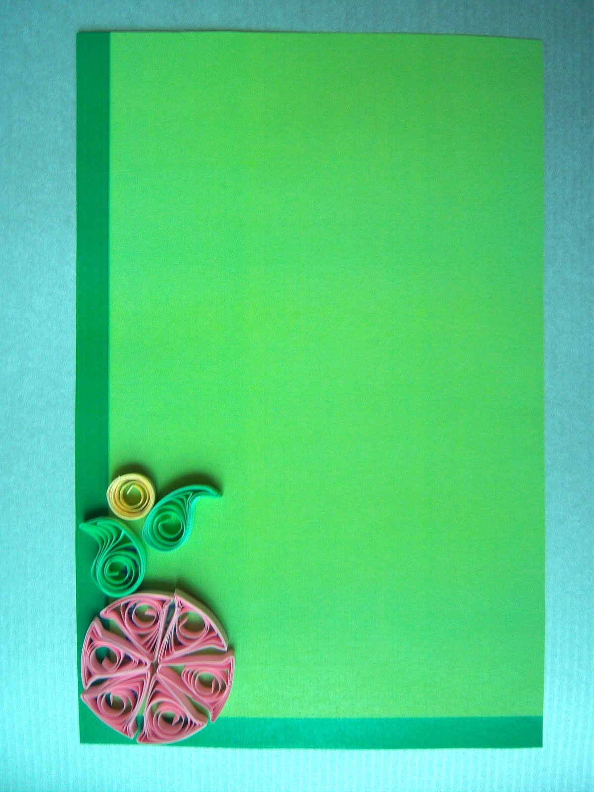 Namratas Sketches Art Greeting Card With Quilling Tecq 1