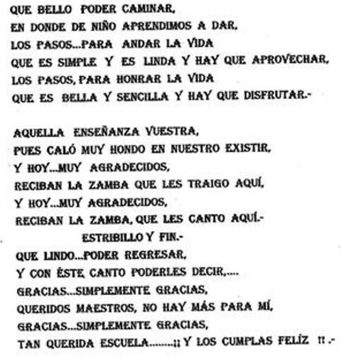 Cancion De Aniversario A Mi Colegio | apexwallpapers.com