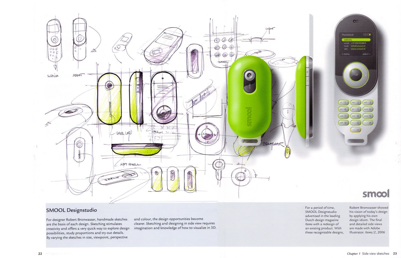 Product design for Designed product