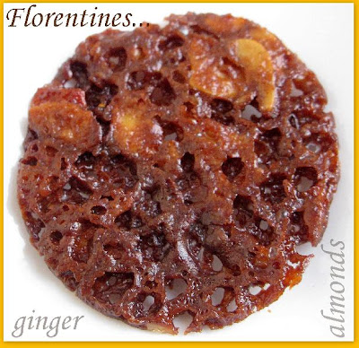 GINGER FLORENTINES…World of Spice Cookies Event!