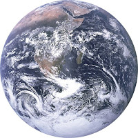 Photo of Earth seen from space