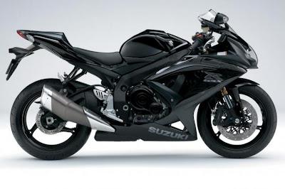 2009 Suzuki GSX-R600 - black