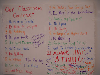Our Class Contract