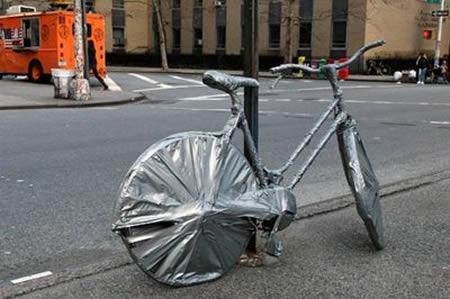como no candar una bici