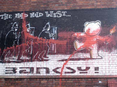 banksy quotes on art. Quote:
