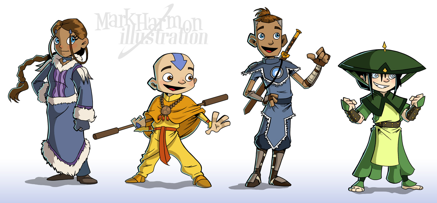 Think, that Avatar the last airbender fan characters that