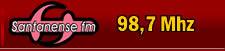 Radio Santanense FM  98,7 Mhz Itaúna - MG