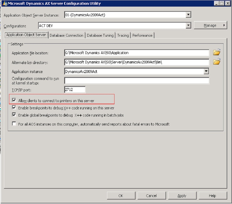 Giridhar raj 39 s blog on microsoft dynamics ax common for Dynamic configuration tool