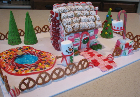 Cute and sassy designs by bonnie gingerbread houses for Cool designs for gingerbread houses