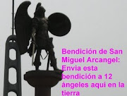 Bendicion de San Miguel Arcangel para Cuba Independiente otorgado por Martha Colmenares
