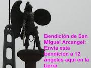 Bendicion de San Miguel Arcangel para Cuba Independiente otorgado por Martha Colmenares