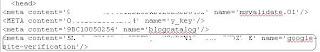 verifikasi kode sitemap