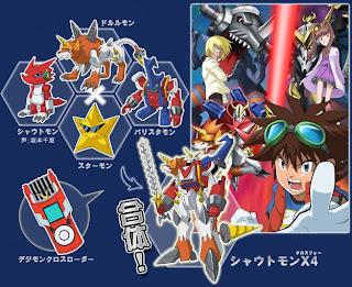 Digimon Xros Wars Spoilers