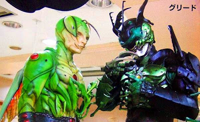 Kamen Rider OOO Greed and Yummu