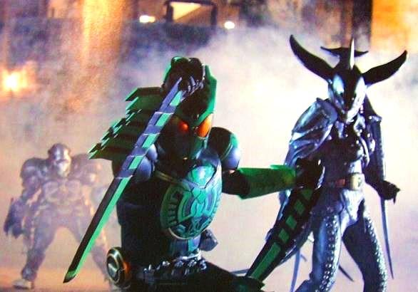 Kamen Rider Ooo. 800 years ago, Kamen Rider OOO