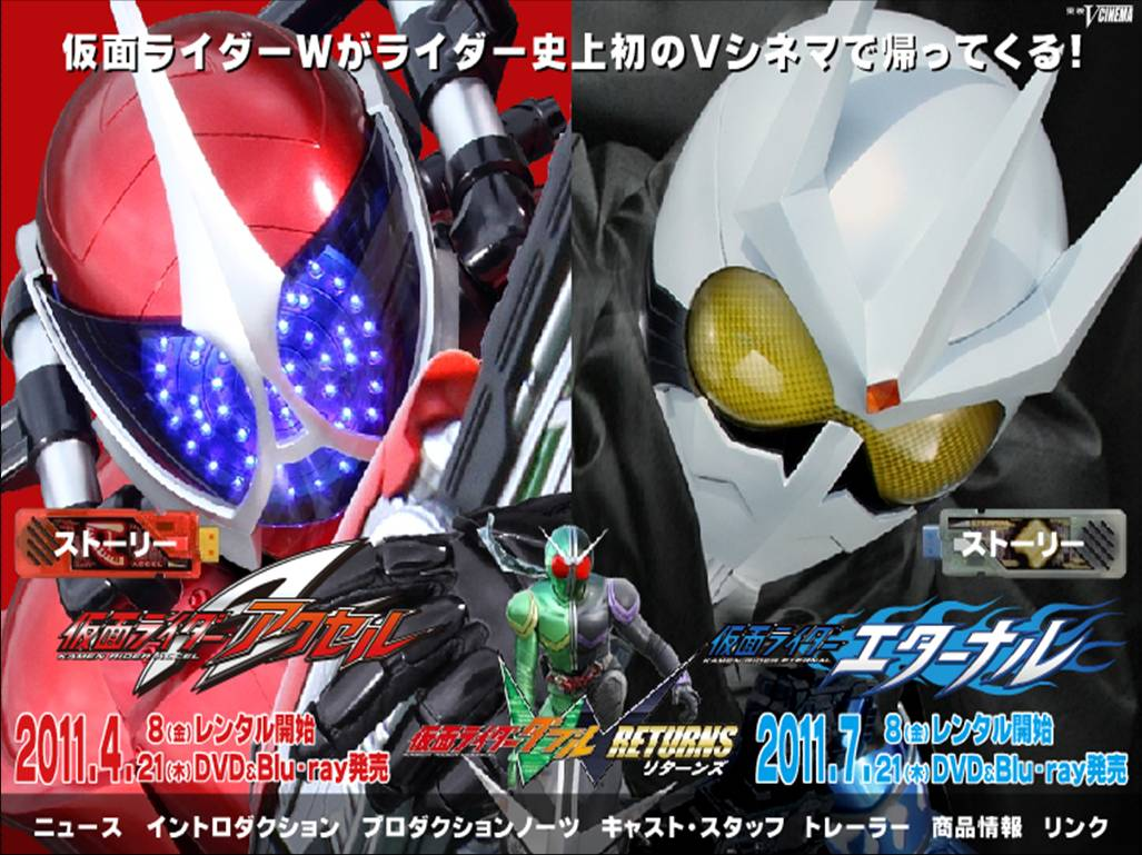 Kamen Rider W Returns: Accel and Eternal