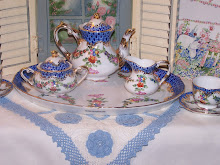 My Little Blue Tea Set