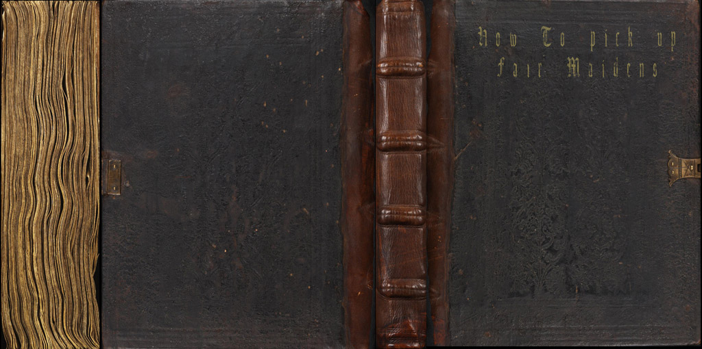 Old Book Cover Texture Photo ~ Free texture site black leather book