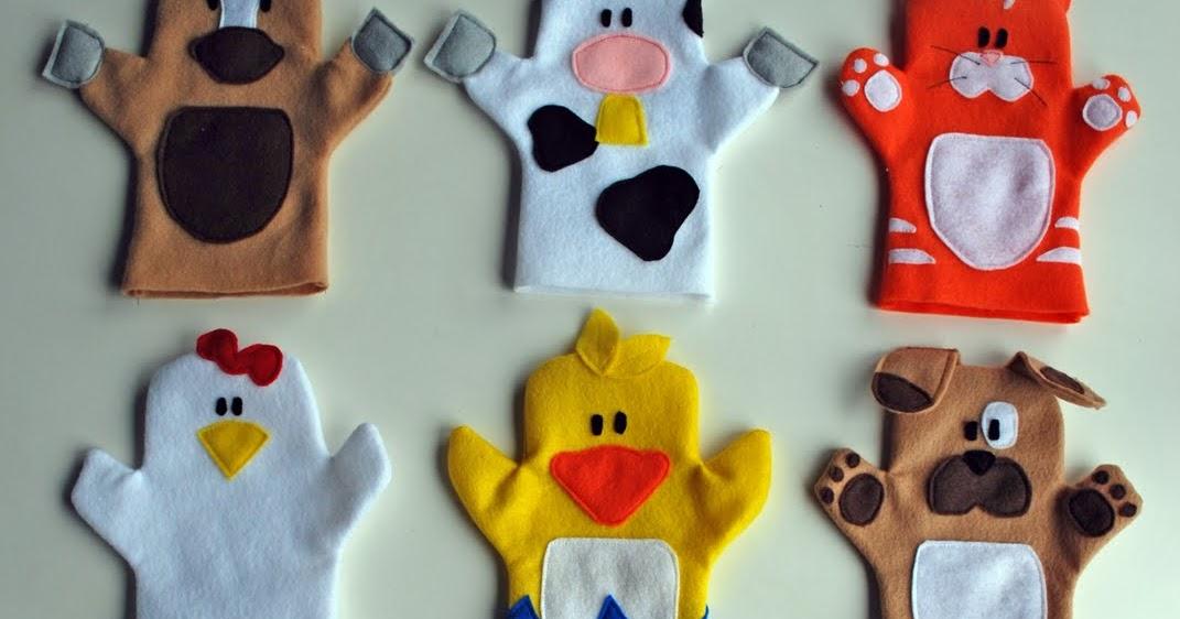 Игрушки на кукольный театр своими руками