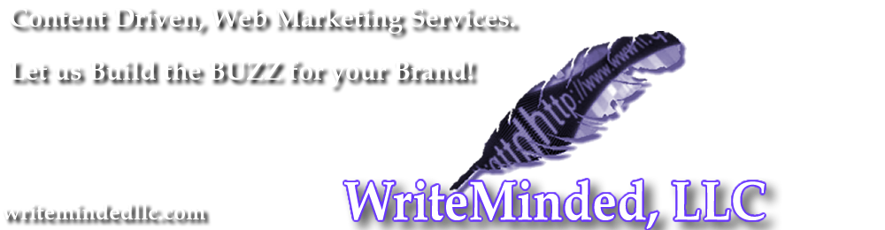 WriteMinded, LLC - Content Driven Web Marketing Services