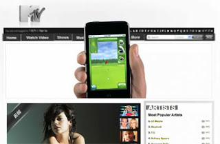 Apple Interactive Ads on MTV