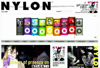 Apple Interactive Ads on NYLON