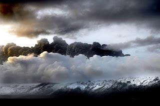 Gunung di Islandia Meletus 3