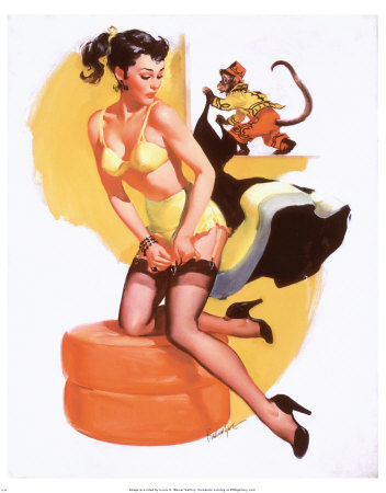 pin up girls art. Pinup girls are considered to be beautiful, glamorous, VINTAGE PINUP GIRLS