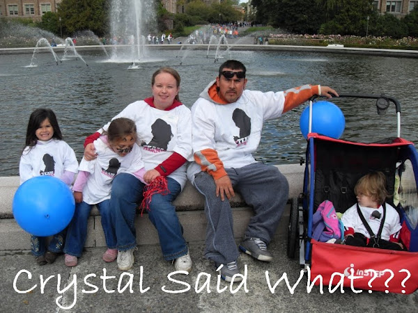 Crystal said what??