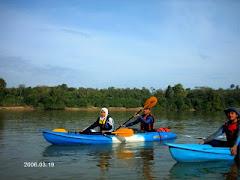 Kayaking Sg Pahang