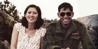foto SBY muda dan ibu Ani Yudhoyono