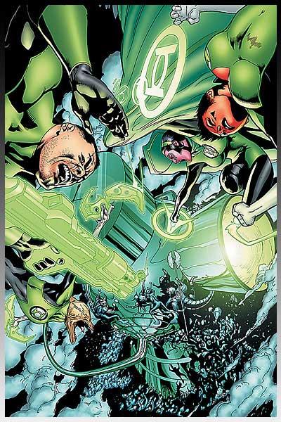 Green Lantern - Fallen Hero