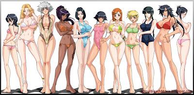 Bleach Sexy Girls