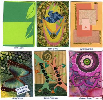creative journey artist trading cards. Black Bedroom Furniture Sets. Home Design Ideas