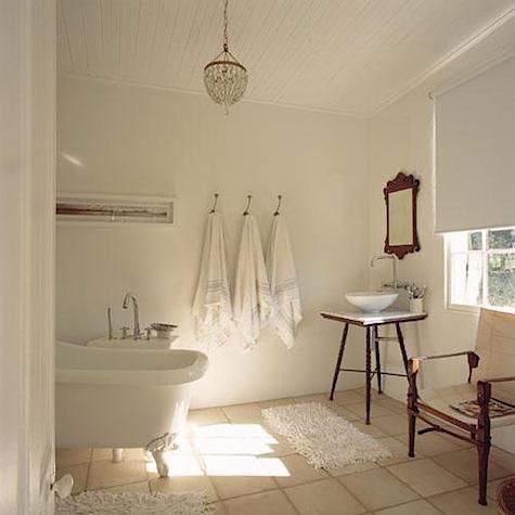 The Polished Pebble The Modern Vintage Bathroom