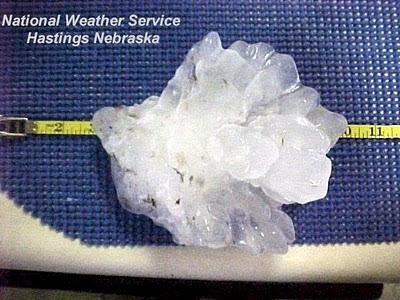 Aurora, NE Hailstone