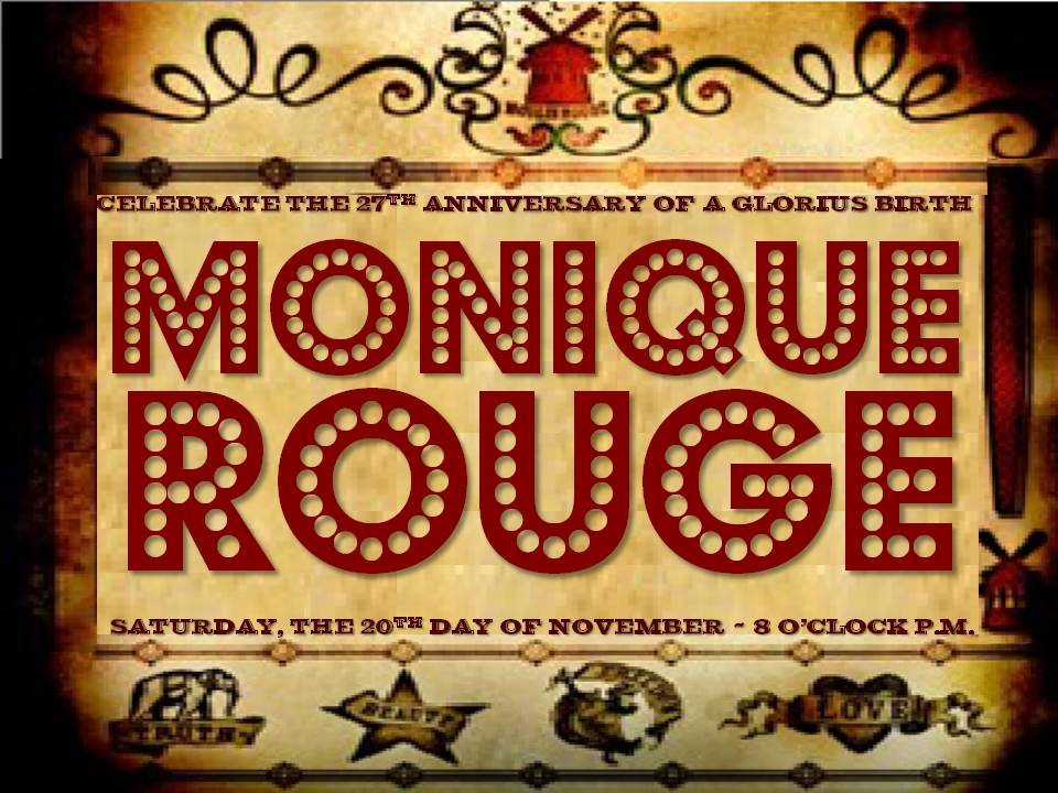 Moulin Rouge event poster collateral by SteveOramA via Behance
