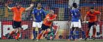 Goles de Holanda Brasil Holanda 2 Brasil 1, Holanda clasificada a semifinal, Brasil eliminado del mundial