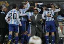Goles de Argentina a México Argentina 3 México 1